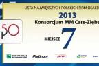 LISTA TOP 50 ZA 2013 ROK